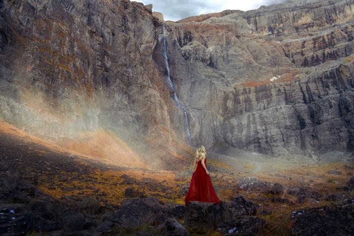 photographe toulouse nature occitanie fineart fine art mise en scène robe